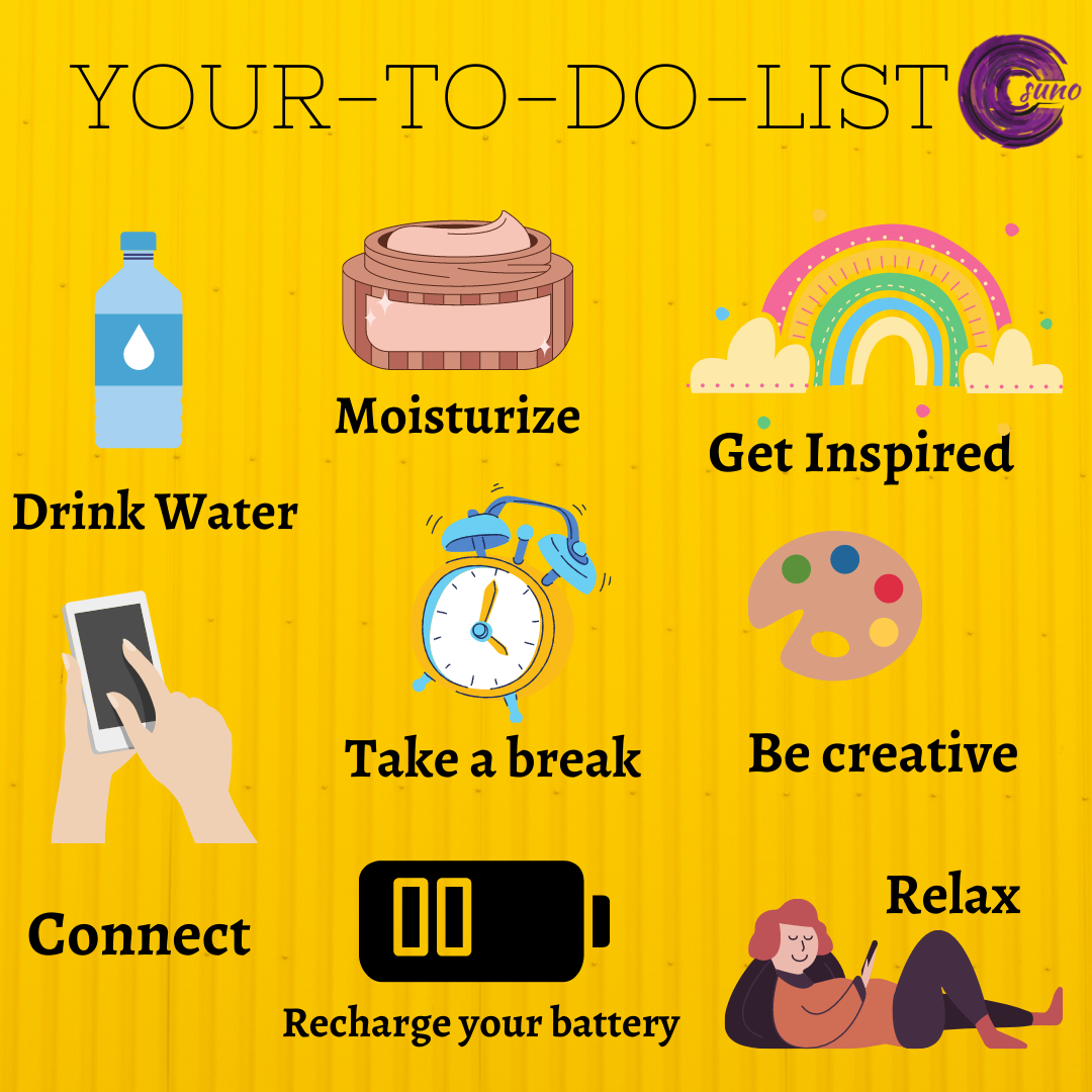 Remember to do all these things for yourself . . . . . . . #welisten #todolist #loveyourself #realconnections #welisten #relationships #takeabreak #selfcare #selflove #relax #preciousmoments #friends #family #askforhelp #helpyourself #strongertogether #SUNOprogrammepic.twitter.com/oSBAhqL0R8