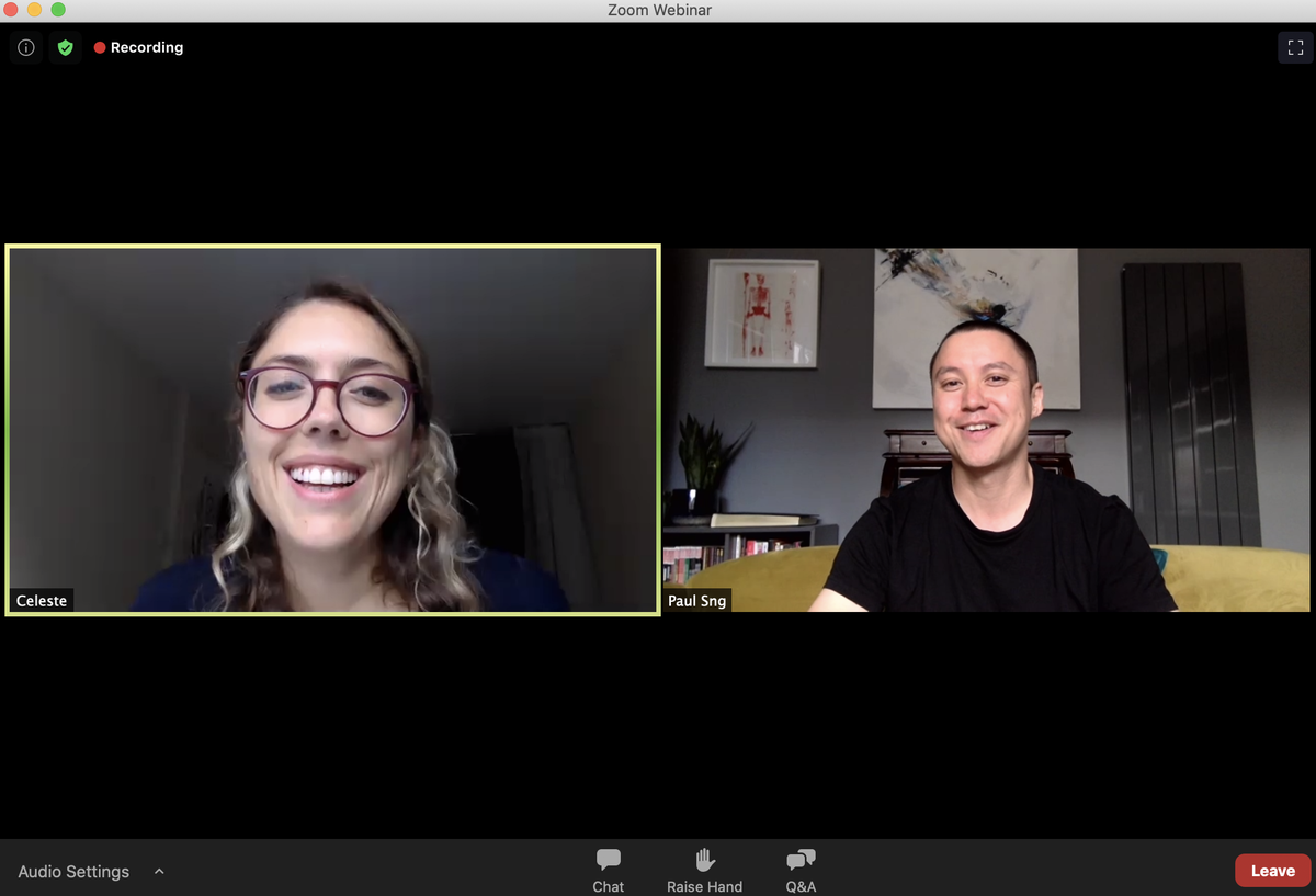 Yesterday I joined other backers of the Poly Styrene documentary for a virtual conversation with co-directors @celestiebell (Poly's daughter) and @paulsng. So inspired by their perseverance and passion. Brought me so much joy to chat with them. #polystyrene #iamacliche https://t.co/O8kaMH4rg3