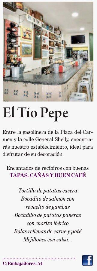 #GoValladolid #eltiopepe #cañas #cafe rico  #tapas   #Valladolid
