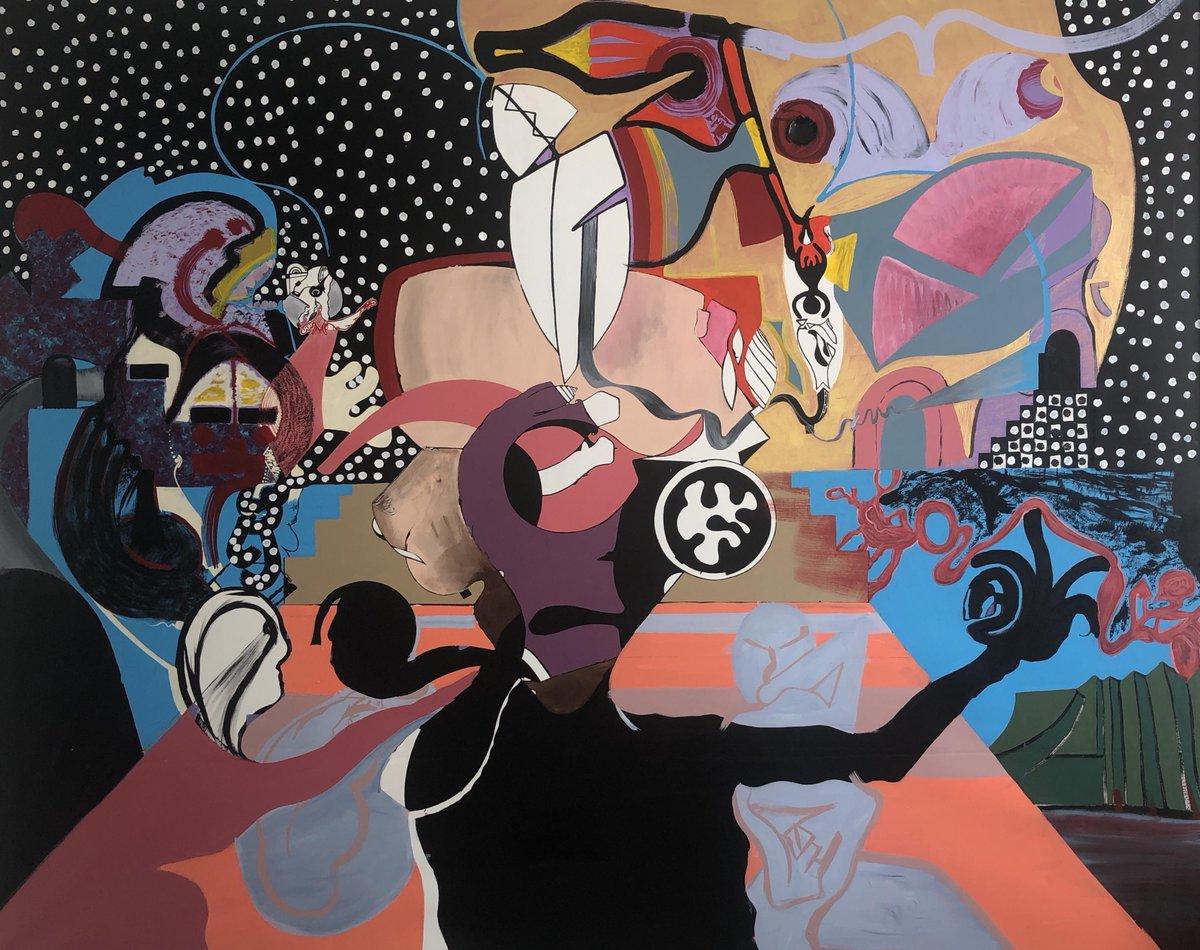 "Burden of Choice, Acrylic on Canvas, 75""x100"" [3353x2654] #artist #artpic.twitter.com/V0yAsKxP2s"