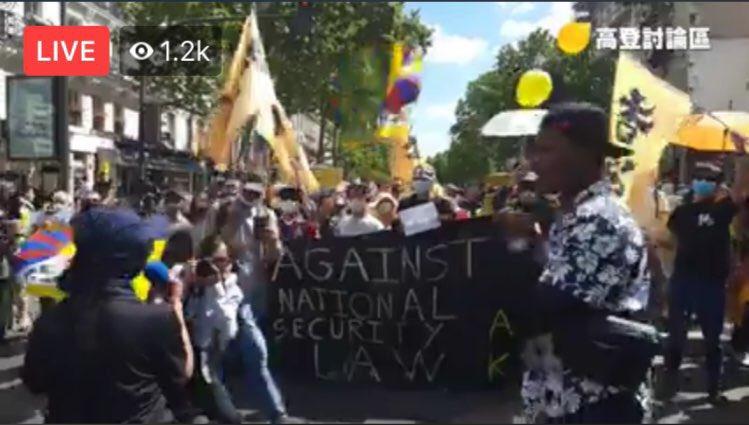 RT @KongTsungGan: Big #HK solidarity demo in Paris today. 'Against national security law.' Merci, Paris! https://t.co/XJzSddsRIN