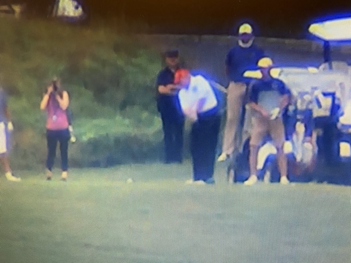 The president is playing golf today.  Our images captured at extreme distance but today he has a photographer in his group which is not typical. https://t.co/uUUR9Fc3KI