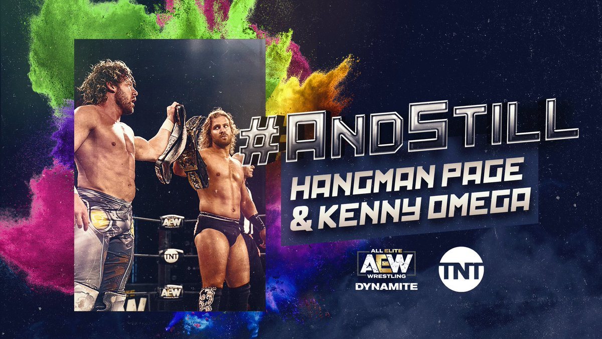 .@theAdamPage and @KennyOmegamanX continue their winning ways. Who will take them down?