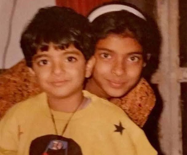 I wish I could rewind to the time when you looked like my baby brother😋...and when your birthday was a countdown to mine for me. Oh wait... it still is. Happy birthday Sid... Miss you❤️❤️😘 @Iamsidchopra https://t.co/1PAr075eLK