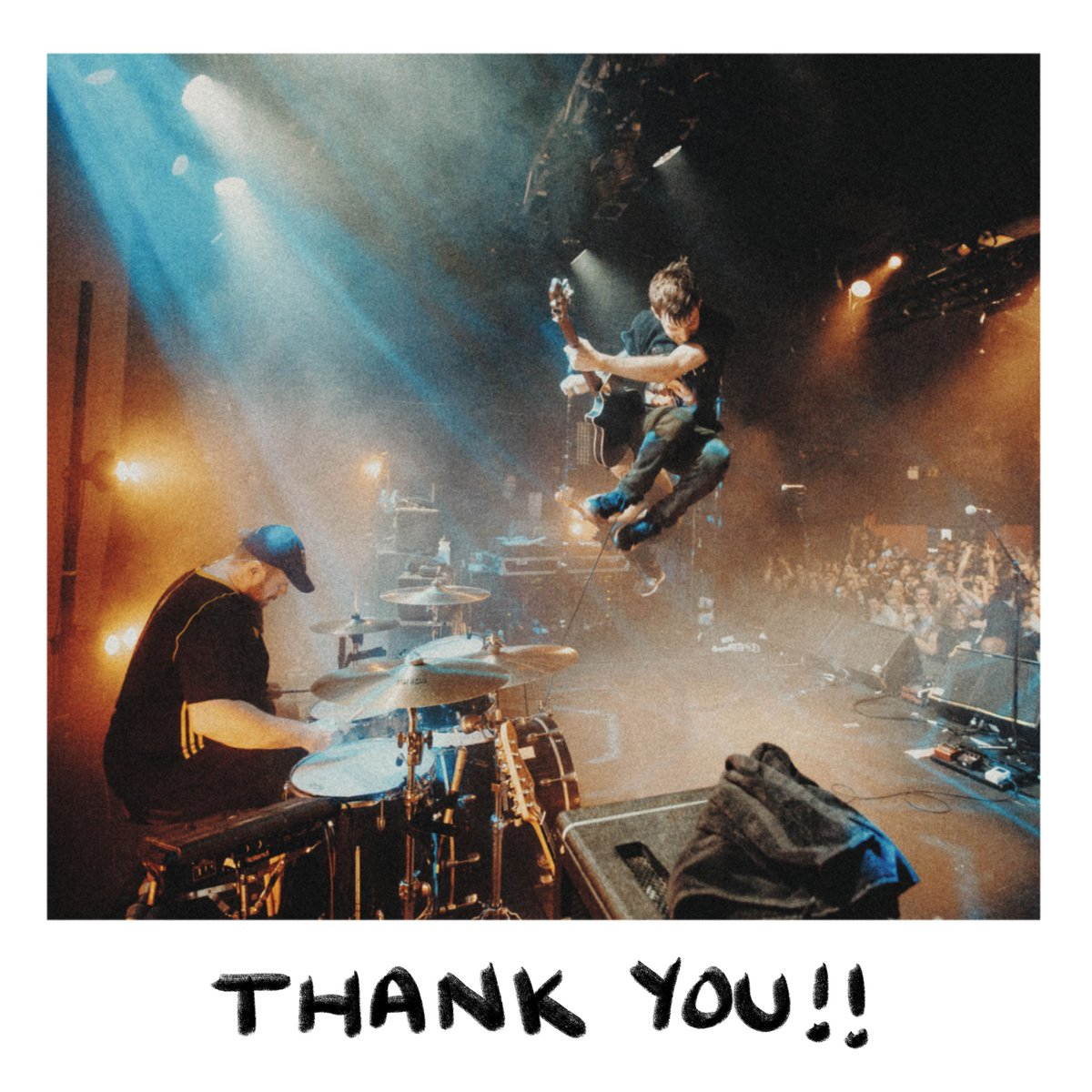 Together we've raised over $27,000 USD, split between Critical Resistance (@C_Resistance) and Breakaway Addiction Services (@bas_toronto). Thank you so much to everyone who bought the live record. We are floored, and extremely grateful for the support.