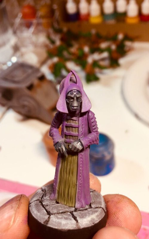 I might finish this guy tonight if he would shut up about intergalactic trade for an episode or so... #starwarslegion https://t.co/SSEmso0aug