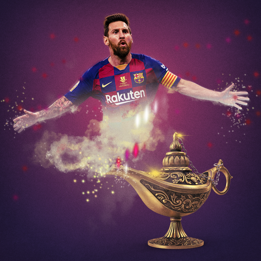 Lionel Messi becomes the first player in La Liga history to register 20+ goals and 20+ assists in a single season 🐐 https://t.co/EC7z5kiPAW