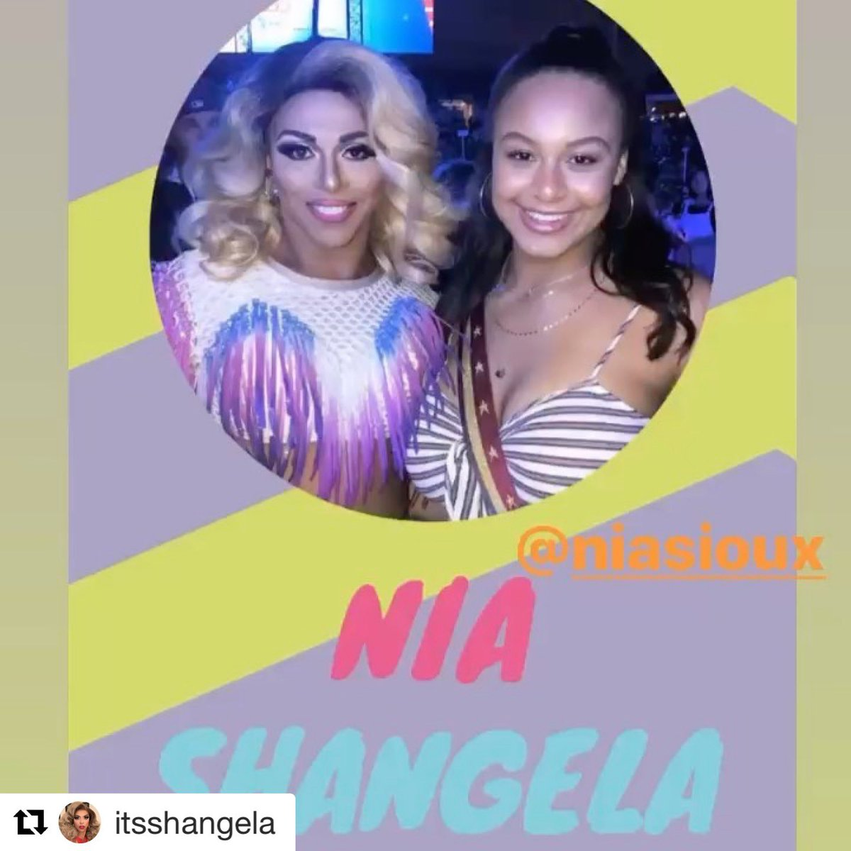 The Death Drop Divas are reuniting in a few minutes!!! Join @itsSHANGELA @niasioux 's IG LIVE at 4pm. https://t.co/j6SzoCpt7h