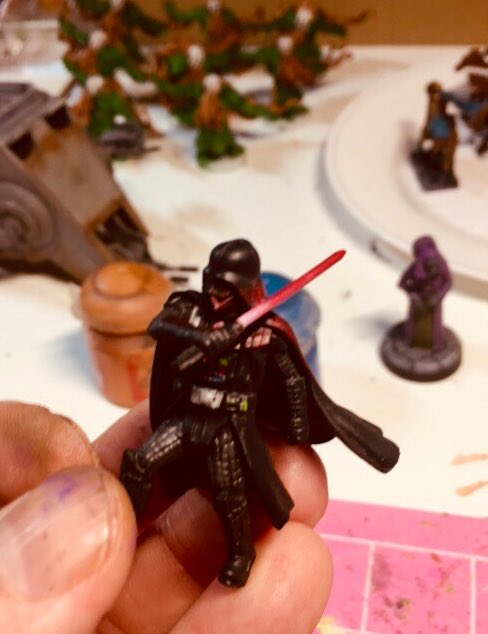 Additionally what's the difference between too much OSL and not enough. It's a fine line... hahaha. #starwarslegion https://t.co/q23dQhLeY5