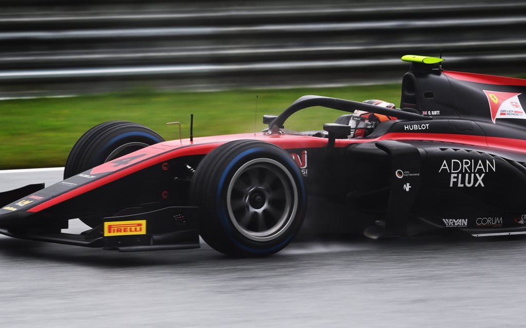 A long and wet race 🌧 Had good pace in the wet but as it started to dry up we struggled as a team. Still good to get solid points in the bag with P5 and a second row start tomorrow leaves plenty to play for 🤙   #F2  📸 Formula Motorsport Limited https://t.co/2Q5xKc7zhp