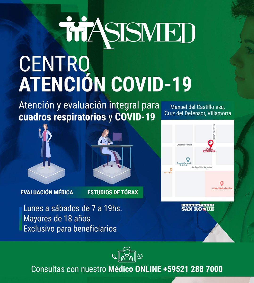 ¡Desde el lunes 13 de julio nuevo servicio ambulatorio de atención para casos sospechosos de COVID-19!  Si presentas síntomas de cuadros respiratorios acércate al Centro de Atención COVID-19 donde realizamos la atención, evaluación y estudios.   📲 Médico Online 0212887000 https://t.co/dy0661ckUh