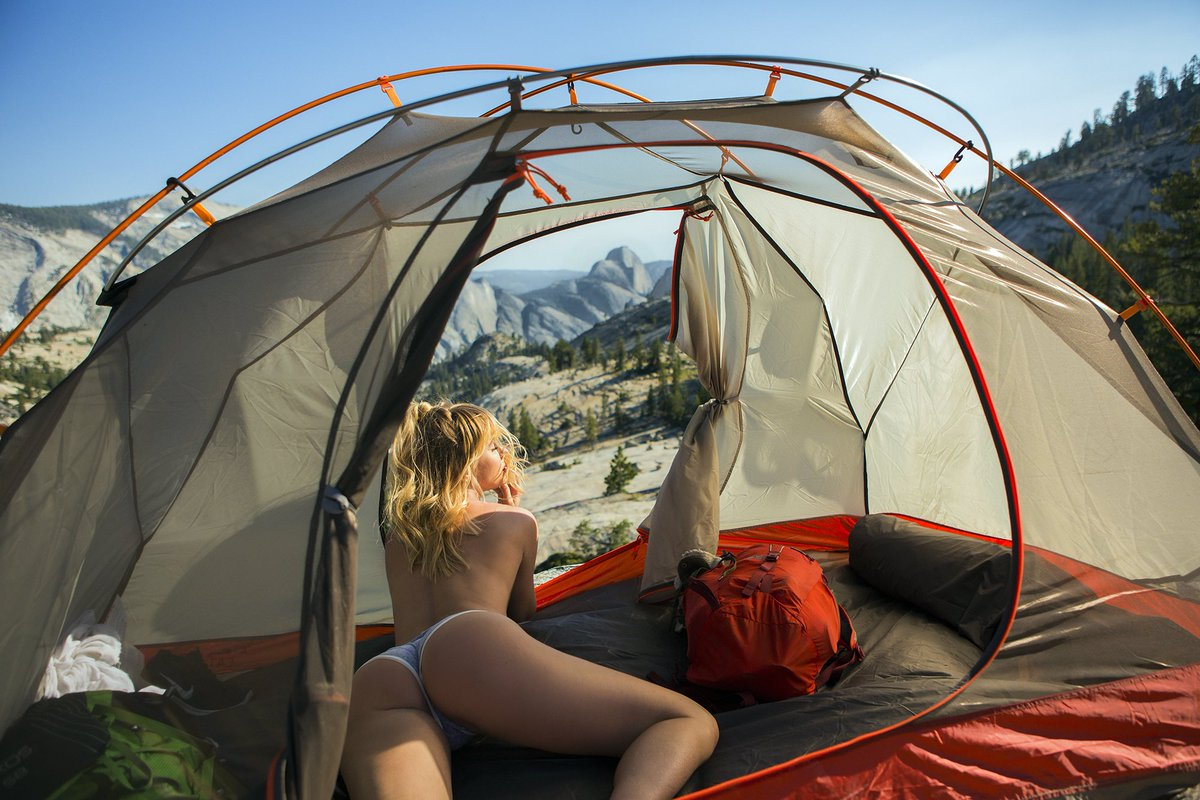 Pitching tents around the world. No but literally.