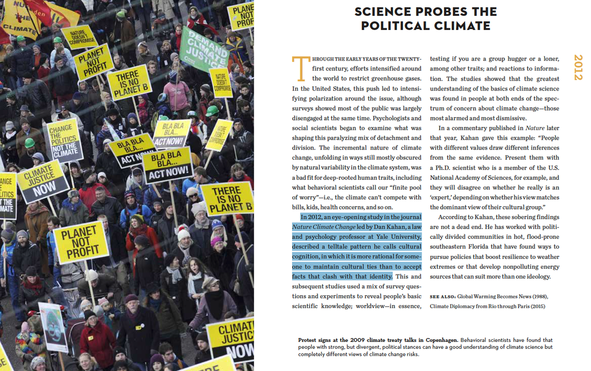 @dahawk7843 @noeldarlow @KenCaldeira @cult_cognition There's a mini chapter on @cult_cognition's work on how cultural bonds trump attachment to reality in my book (with @LisaMechaley) on humanity's continuing weather & climate learning journey: https://t.co/1jJgLWneBS https://t.co/fzOjuwlSiI