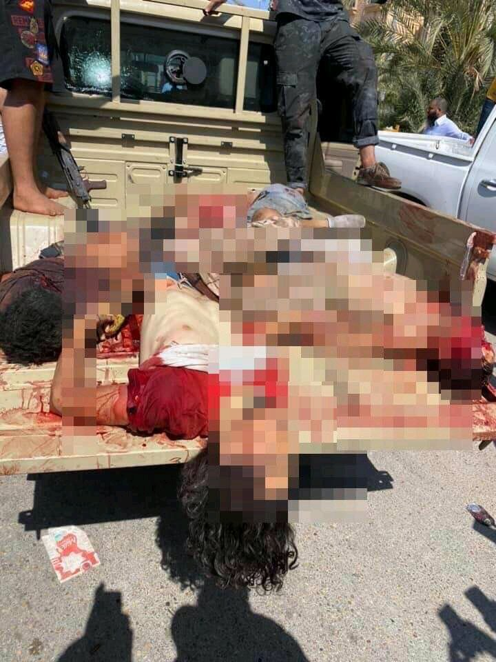 Clasher between #turkish backed #GNA militas over fuel smugiling in tripoli libya , led to 7 deaths.pic.twitter.com/Mvad91Q7JS