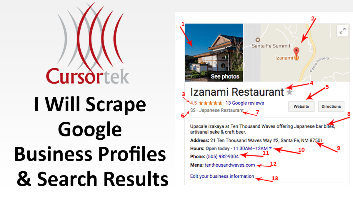 Check out my Gig on #Fiverr: do #google #scraping for #search results or #business #profiles   Like: #Endodontists #Eyewear #Handyman #Veterinarians #Nutritionists #PhysicalTherapy #HomeCleaning #hotels #restaurants #leads #socialmedia #scraping #datamining