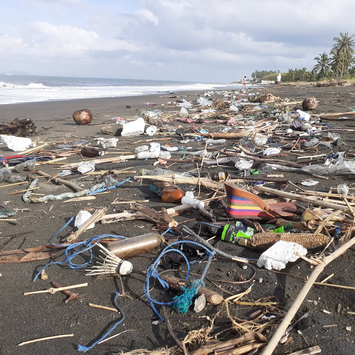 Before & After. Our Jembrana Beach Team recently recovered over 860 pounds of trash from Ketapang Beach in Bali pushing us past 9,420,115 total pounds across all of our cleanup divisions.