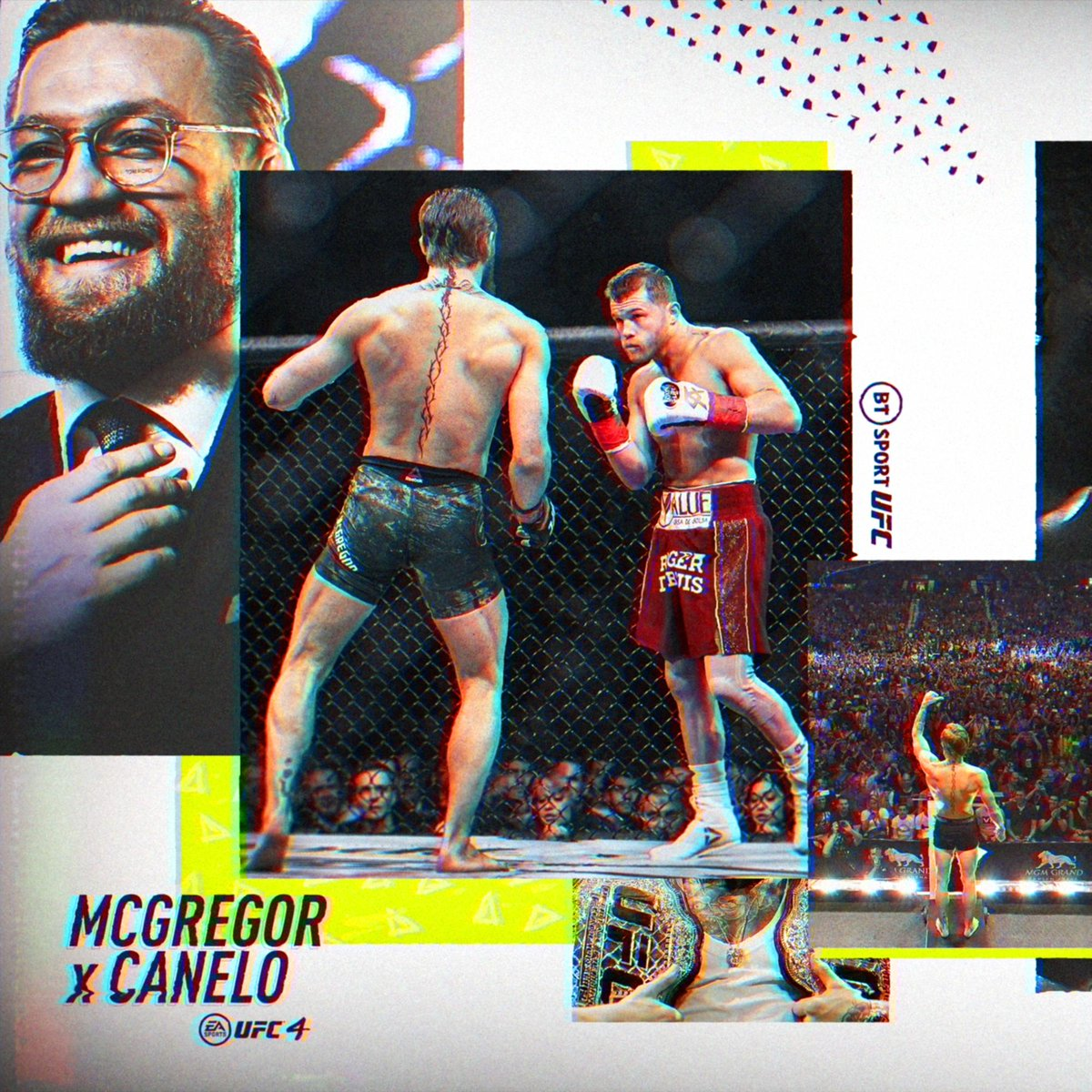 File these fights under things we'd love to see 🔥 If boxing's best fighters went over to take on the UFC 🥊 #UFC4