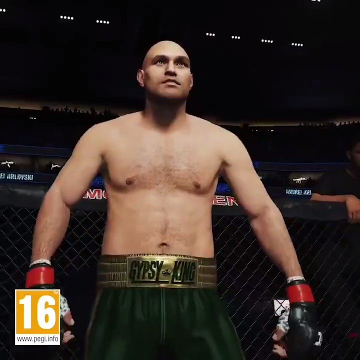 The Gypsy King @Tyson_Fury steps into the Octagon as a playable character in UFC 4 👑    (via @EASPORTSUFC) https://t.co/1U10eA4pOV