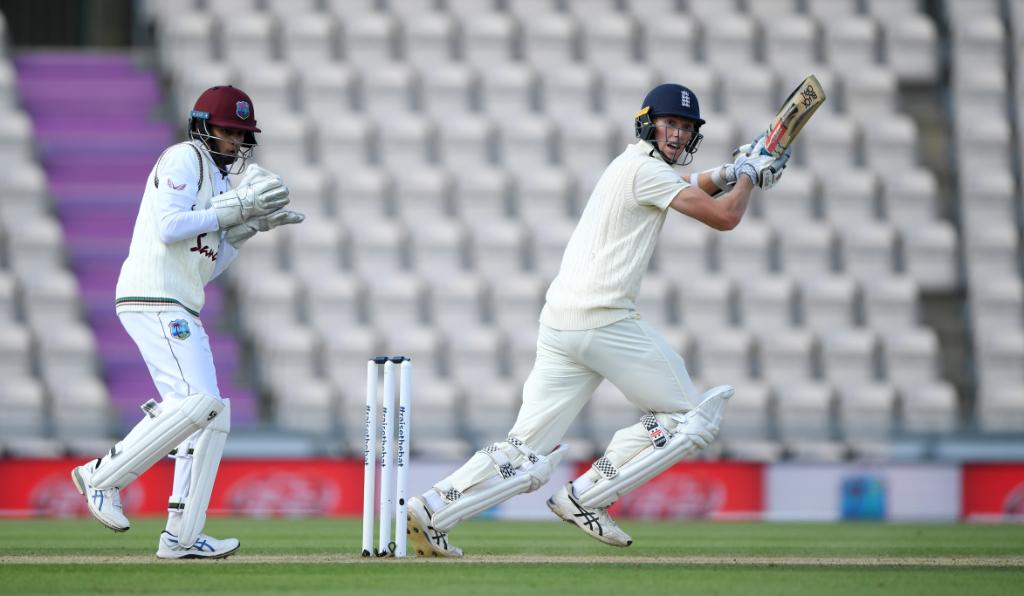 England's Jack Crawley played a fighting hand of 76 in the second innings of England and West Indies Test.  (Credits: Twitter/ ICC)