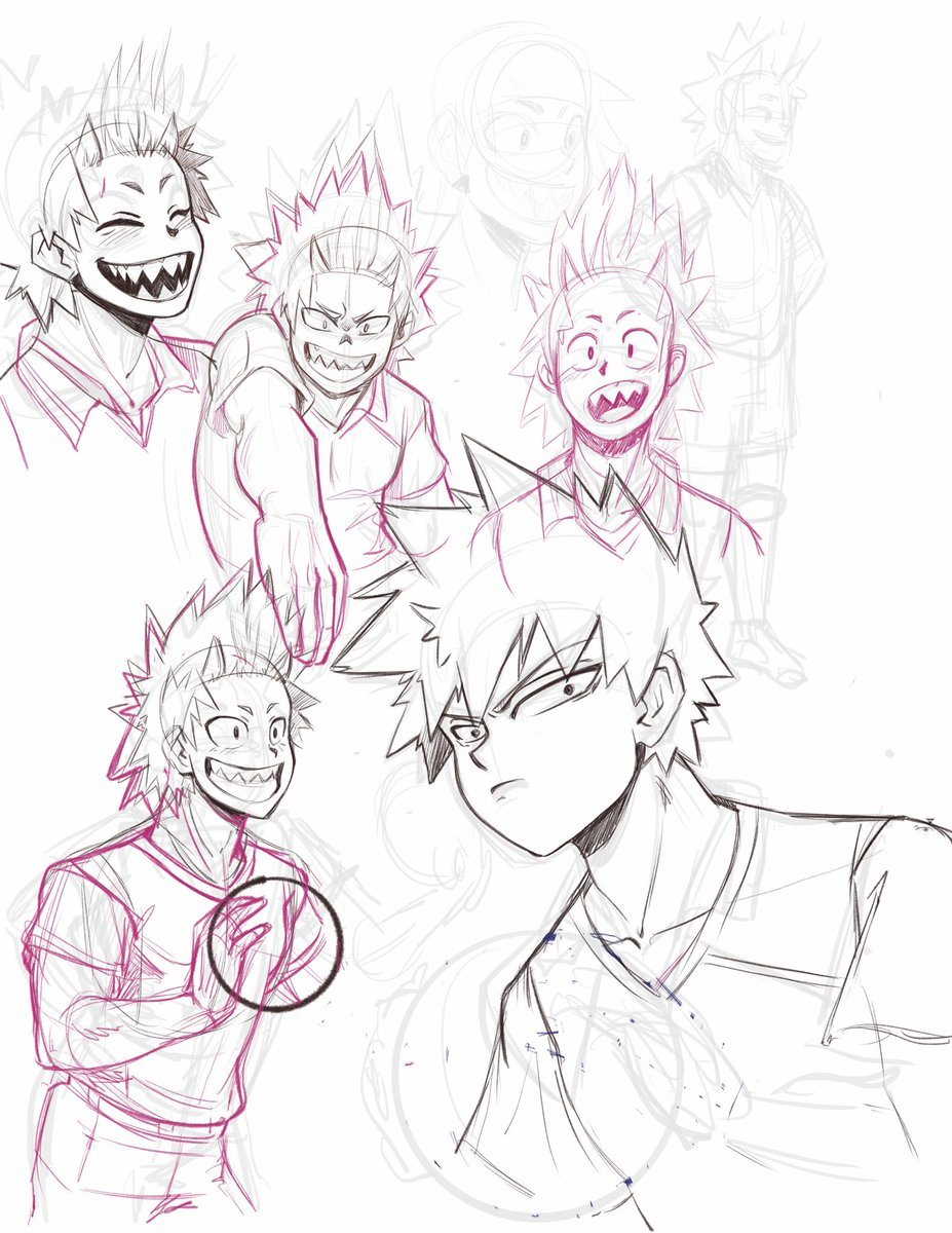 I don't have a finished drawing ready to post this week. But, here is a sketch dump instead. Sometimes these sketches will feel worthwhile to turn into a a comic or a finished drawing, but mostly this is just for fun.<br>http://pic.twitter.com/PGpVpqitAh