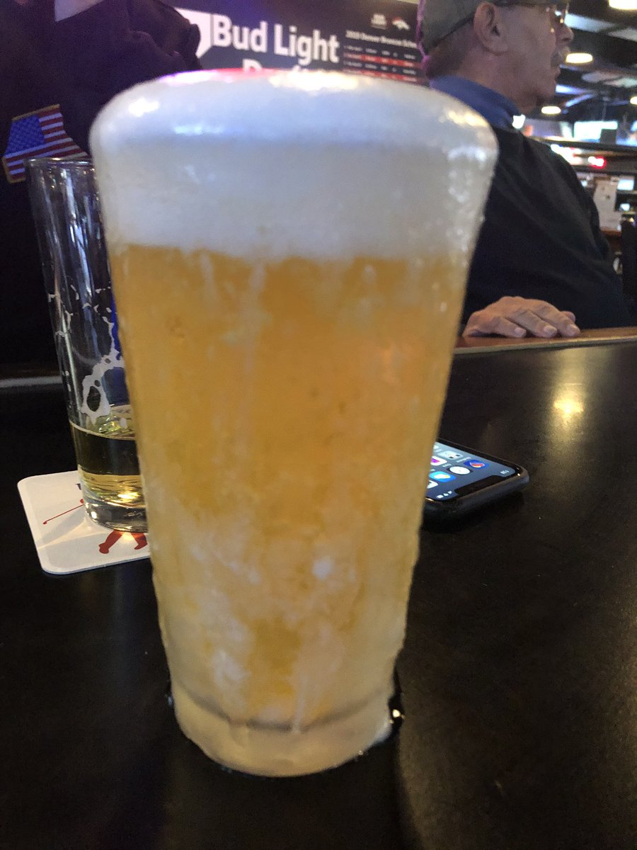 Cool down today with the coldest beer in #Denver @TheDamGrille hope to see you soon!pic.twitter.com/nmXpftb51M