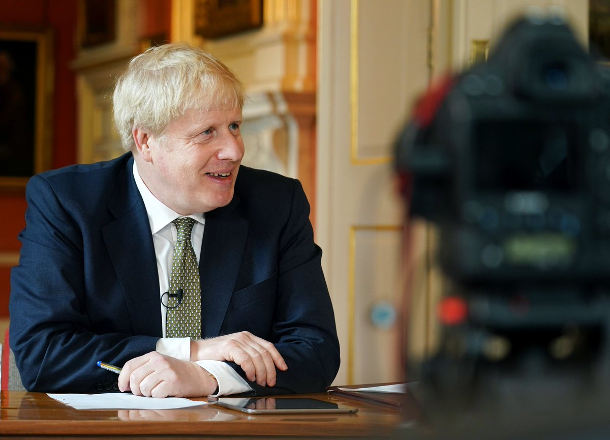 It was fantastic to be back answering your questions at #PeoplesPMQs yesterday. You can watch the full episode here: facebook.com/borisjohnson/v…