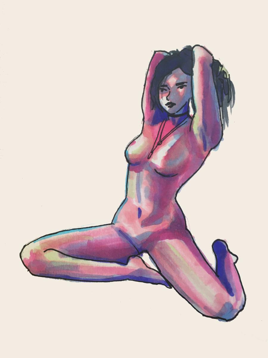shits real when you pulling your hair back #nsfwart #nsfwartist #twitterafterdark #girls #hotties #sexxxx #boob #bigboob #friday #FridayFun #women #porn https://t.co/Zw7I8P8AQx