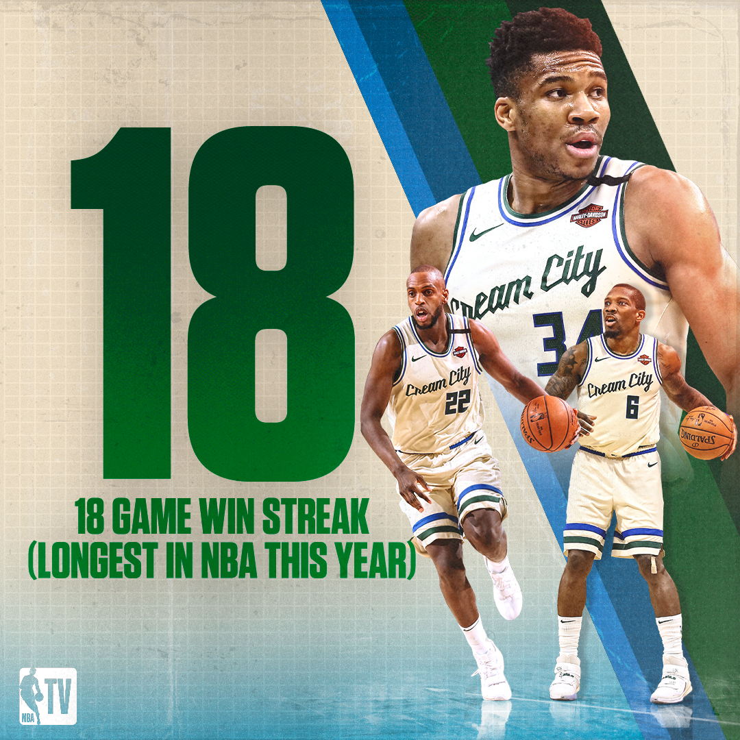 The @Bucks have been tough to knock off this year 🦌  18 days until tip | #WholeNewGame https://t.co/Z1FZ1an2yJ