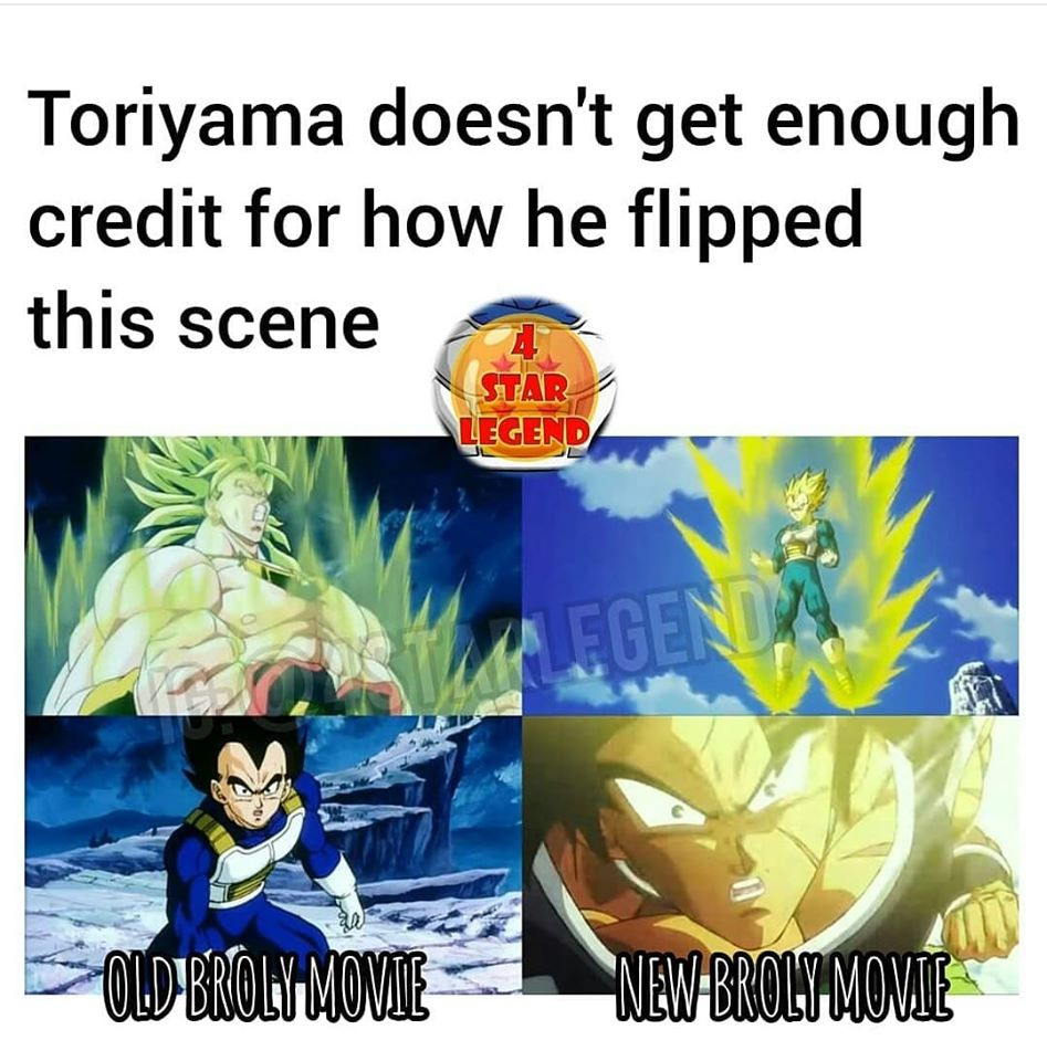 Maybe because Toriyama didn't animate nor did he direct that scene. If anybody deserves credit. its director Nagamine.  I really feel genuinely bad for people who 'learn' from these Facebook memes. They're unbelievably misinformed. <br>http://pic.twitter.com/eoKHIzbegg