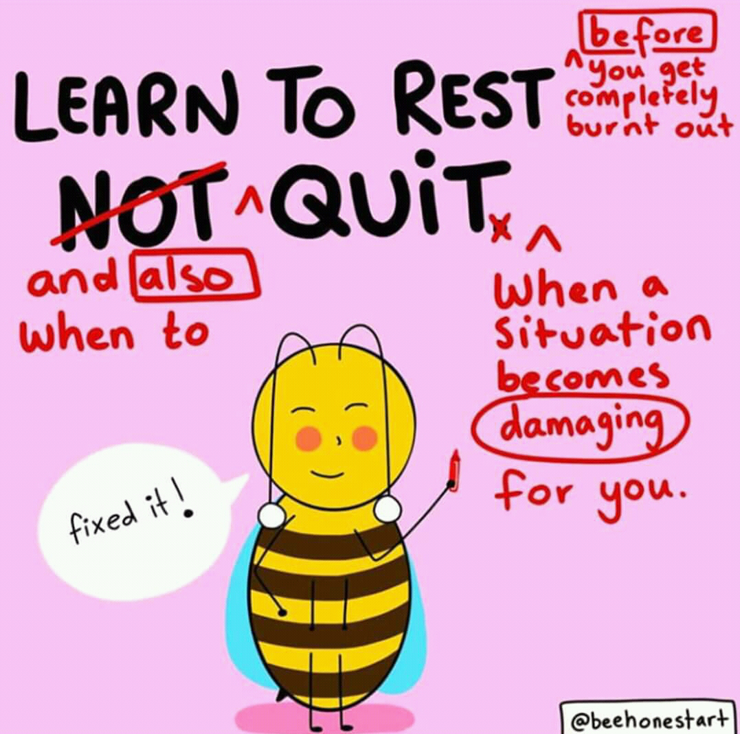 Learn to rest and also when to quit! ~  ~ #beautiful #happyfriday #dailyfluff #smileeveryday #love #behappyalways #behappy #smilebitch #picoftheday #selflovepic.twitter.com/uyS3YiEBro