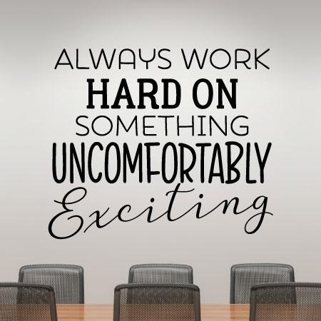 Break through that comfort zone and enjoy  life.  #comfortzone #live #life #freedom #work #hustle