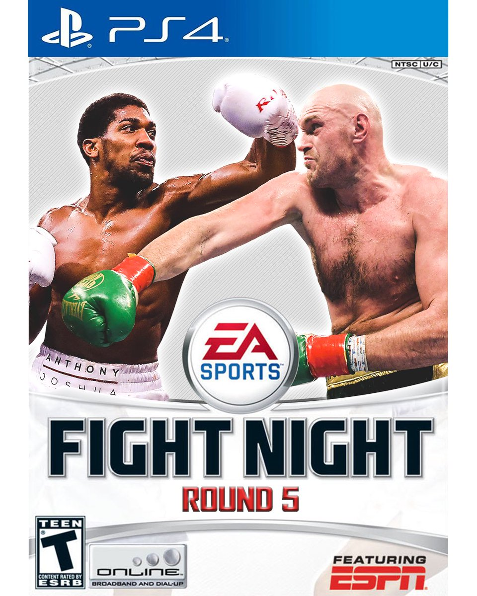 With @Tyson_Fury and @AnthonyfJoshua featured in #UFC4, we started wondering… https://t.co/UipmKq8mXo