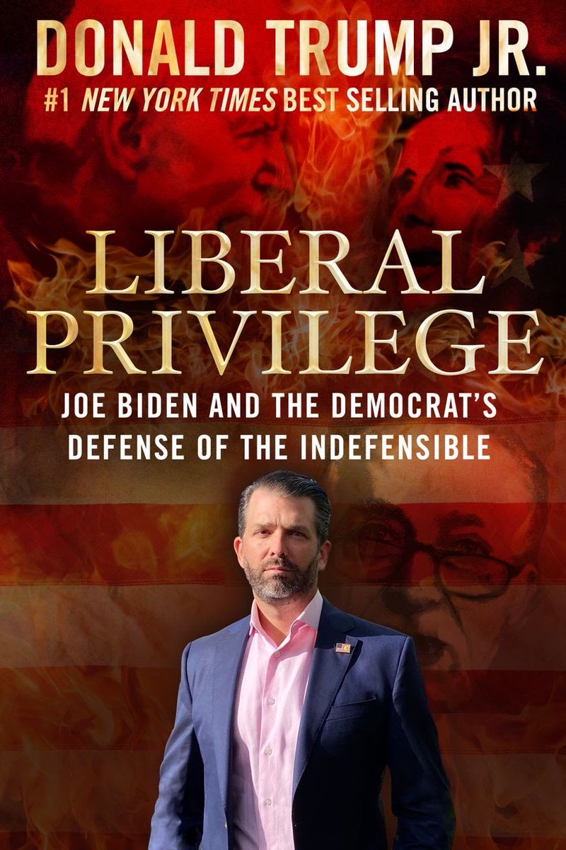 """Do you think we should tell @DonaldJTrumpJr that there's a typo on his book cover? He means """"the Democrats' defense of the indefensible."""" https://t.co/SVSEiThDjn"""