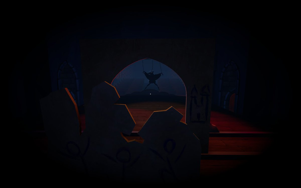 """We Were Here on Twitter: """"Who remembers hiding from the marionette in the  first We Were Here title? How scared were you? #WeWereHere  #ScreenshotSaturday #Jester… https://t.co/mVelySULjp"""""""