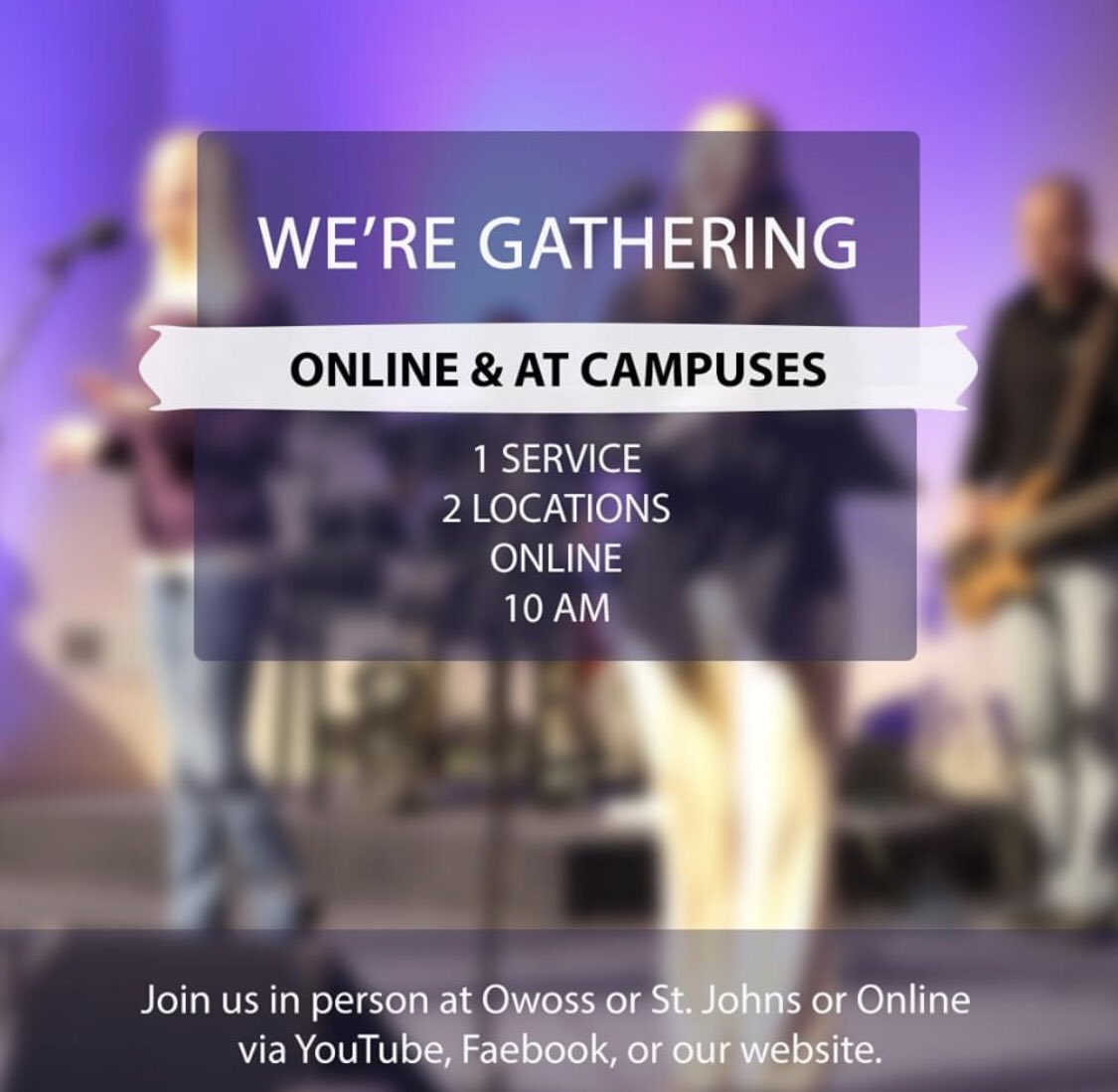 Hope to see you in-person or online this weekend. #worshipwithus #worshipanywhere https://t.co/AvjnWxPYk6
