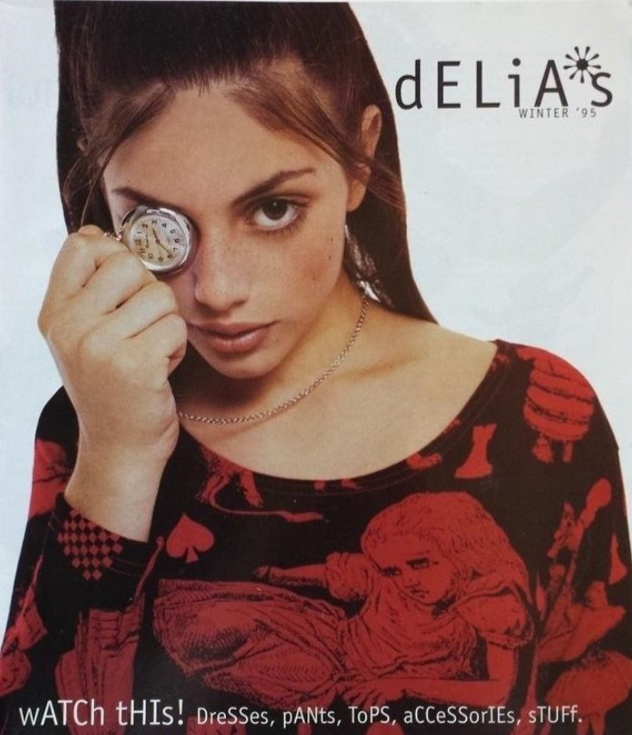 The first ever Delia's Catalog, Winter 1995. Don't say you didn't read it... #SaturdayThoughts #fashion<br>http://pic.twitter.com/PhMd8zIv85