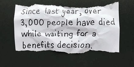 A year ago, the government promised a review into benefits for dying people. Were calling for a deadline for publication of the review. Tweet the minister responsible: bit.ly/2OcVH3S #Scrap6Months