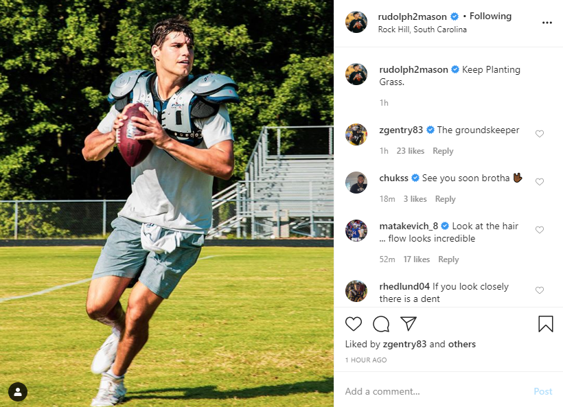 Steelers Depot On Twitter Mason Rudolph On Ig Steelers