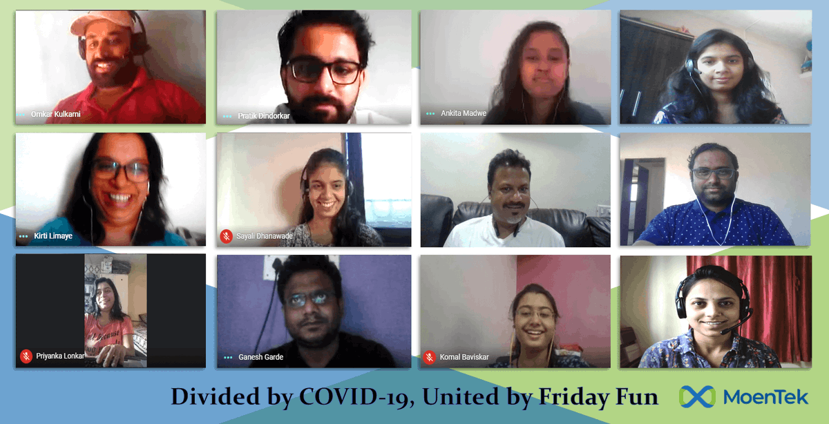 Are you working from home? We are! Yet we celebrated #FunFriday   #FridayFeeling #SocialDistancing #WorkFromHome #Covid19 #Lockdown #Quarantine #FridayFun https://t.co/XtEMgzU5y8
