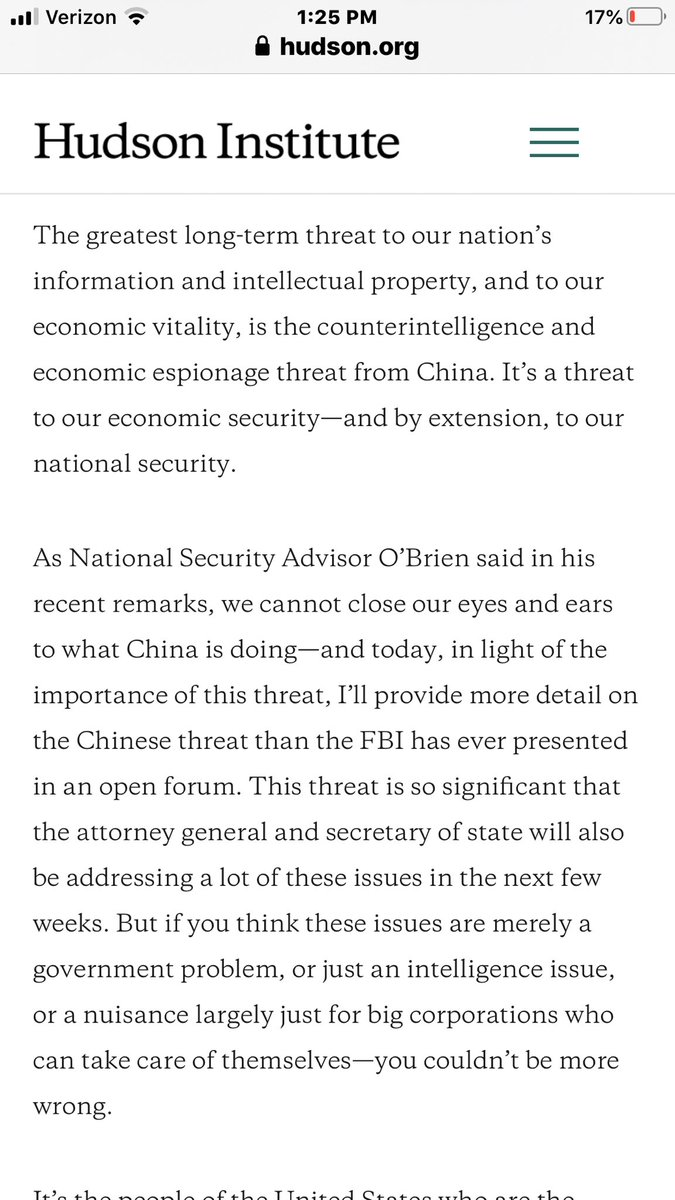 CCP is the ultimate threat-ignore the sideshow of Leftist BS pic.twitter.com/aYBNy5nJx8