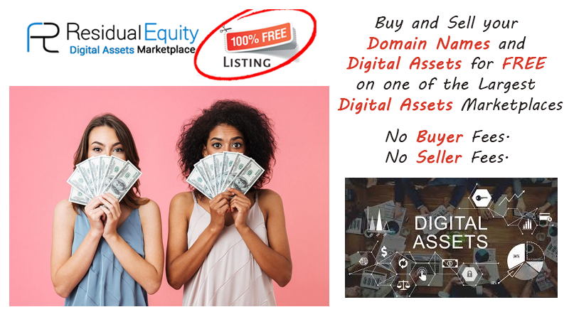 is the Most popular #free #marketplaces for #digitalassets We are the leading and most trusted Marketplace with exceptional knowledge and expertise in #digital assets. #Domains #domainnames #naming #branding #domaining #tradeing #success