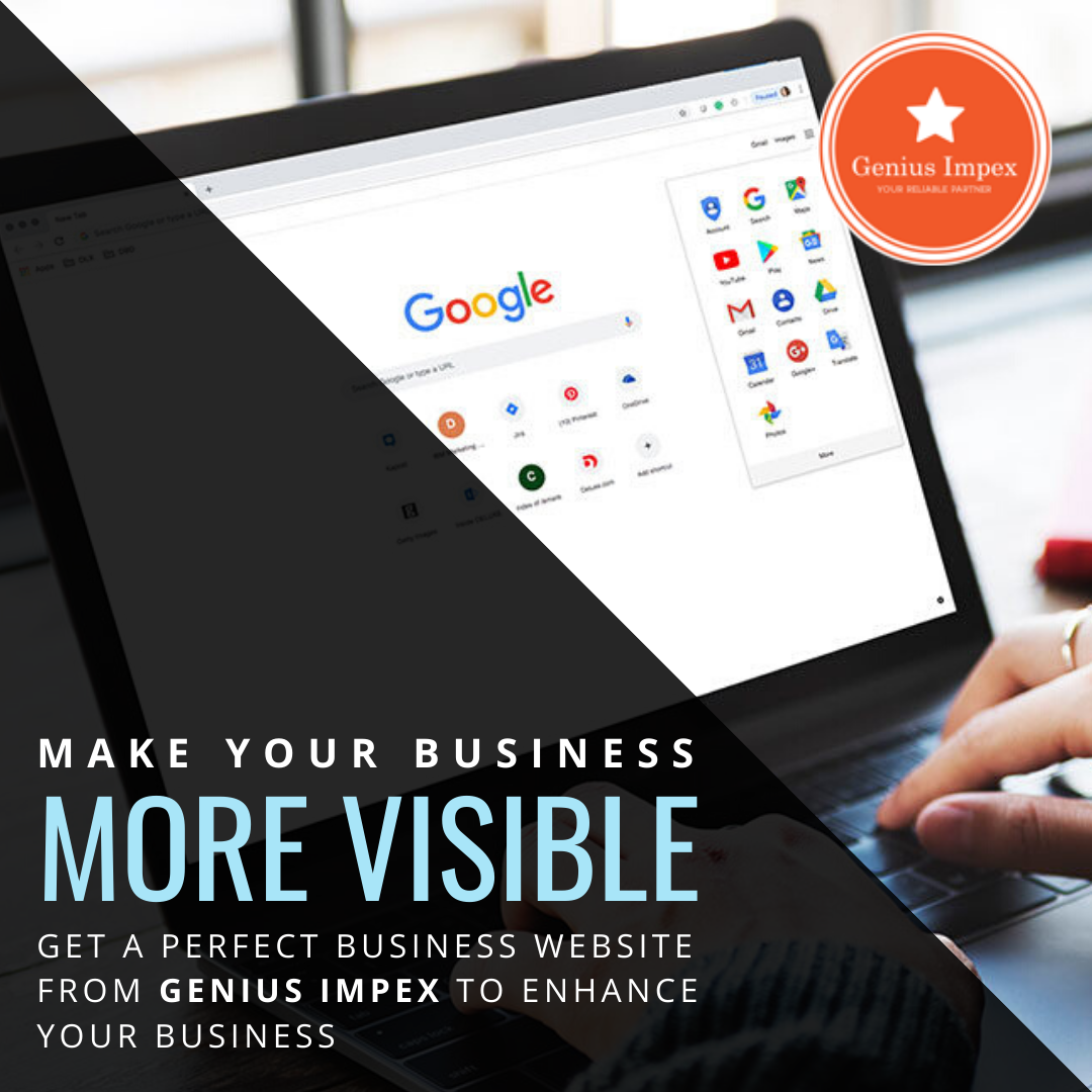 Make Your Business More Visible - Get A Perfect Business Website From  To Enhance Your Business.  #business #website #grow_your_business #enhance_your_business #perfect #growth #visible #online #web_development #design