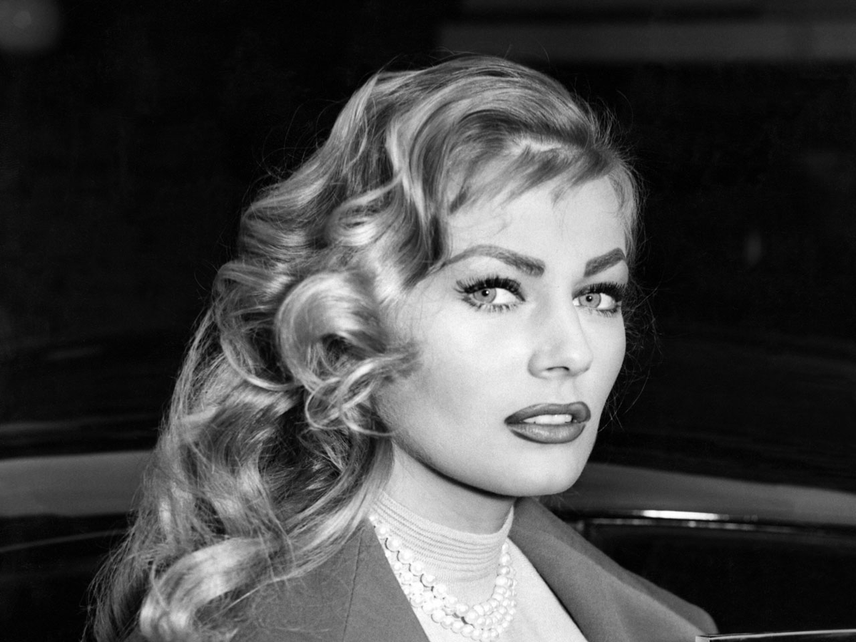 "Distracted Film on Twitter: ""THE FACES OF OTHERS: Anita Ekberg.… """