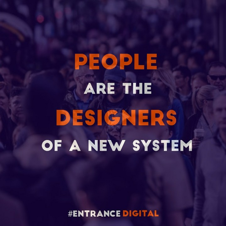 We are the designers  #circulareconomy #sustainability #people #design #entrancedigital
