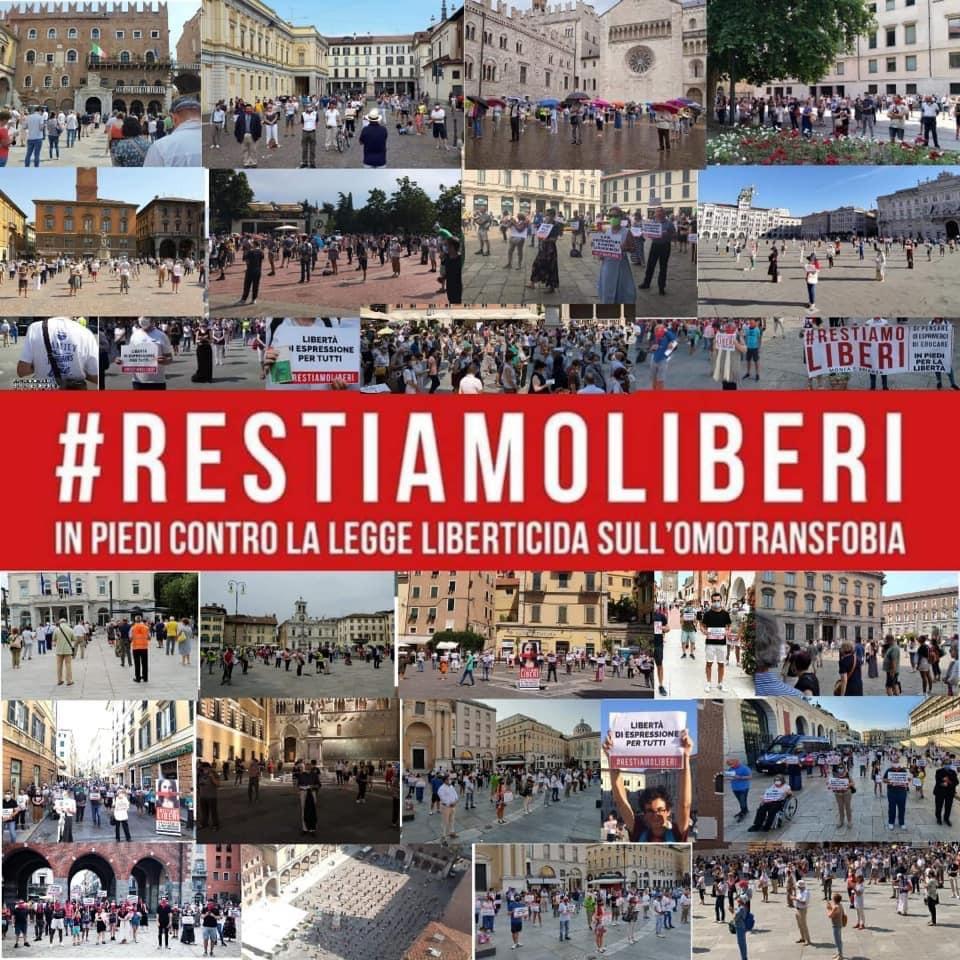 #RestiamoLiberi
