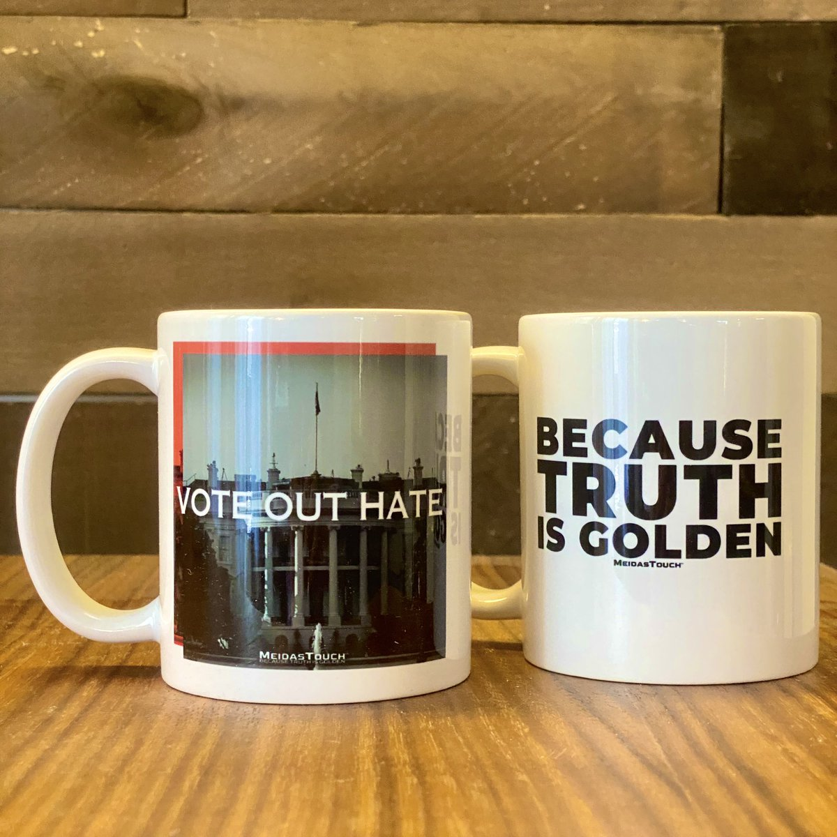 Vote Out Hate. Truth is Golden.   Get yours today: