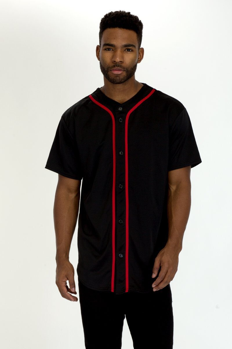 Mens Baseball Button Down Jersey Hipster Hip Hop T launched come over check out 10 different colors  #urbanstyle #streetstyle #hipsterspic.twitter.com/Y0F3MNbqun