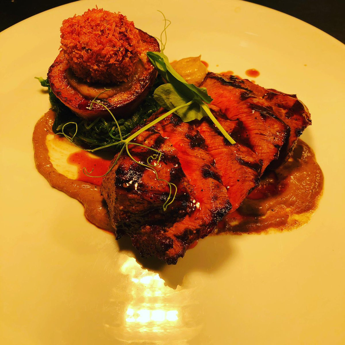 Featherblade of beef looking stunning.... #beef #localbusiness #localfood #mediumrare #delish #burystedmunds #freshfood #foodie #burystedmundsfood #foods #food