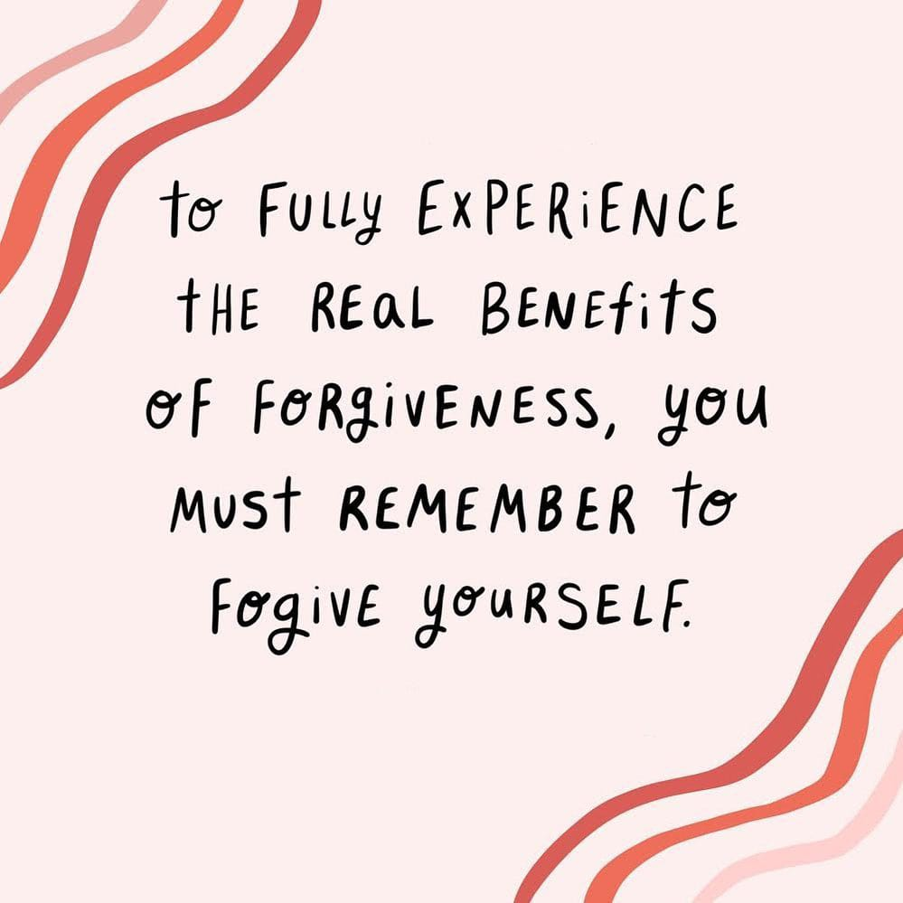 """Forgive yourself for not knowing what you didn't know before you learned it."" And sometimes it takes more than one time to fully learn the lesson. Good Night 🤗💗  #GoodNightEveryone #goodnight #sweetdream https://t.co/YhyoeESzg2"