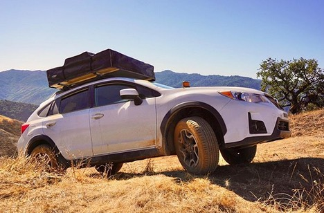 Looking for the perfect camping spot on #sideshotsaturday PC: ameliathecrosstrek https://t.co/BPwCFyX8GD